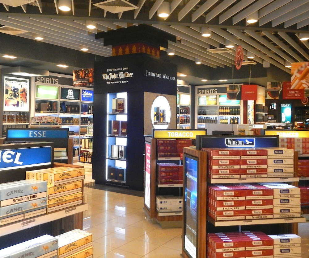 Airport suppliers press release concourse display for Retail furniture