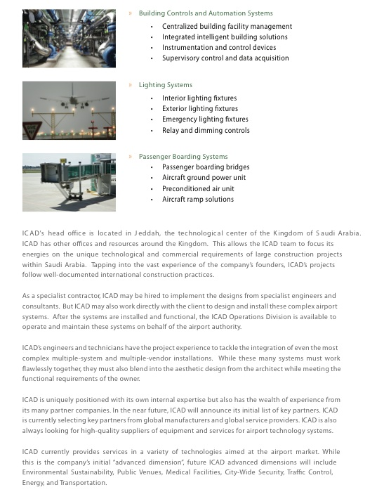 Airport Suppliers - Press Release - ICAD - Passenger Processing
