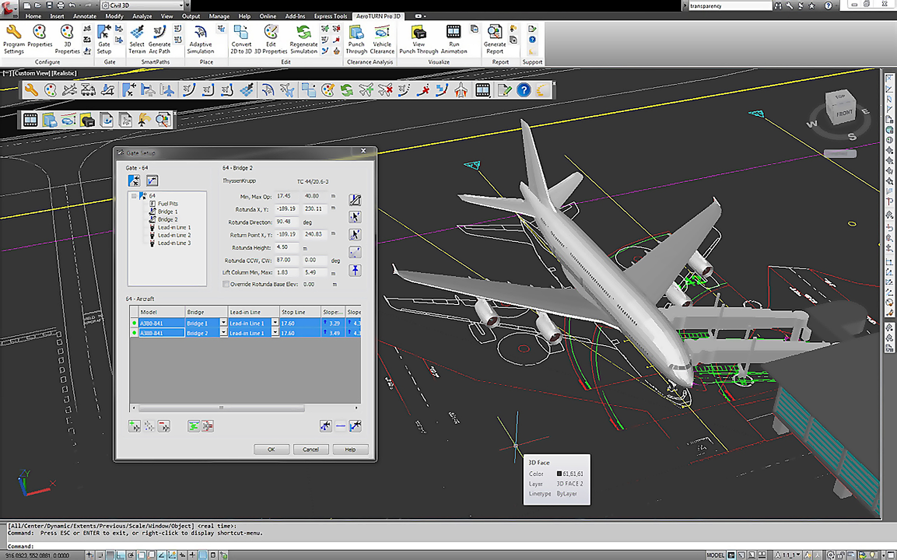 Airport suppliers press release transoft solutions for Free online cad program